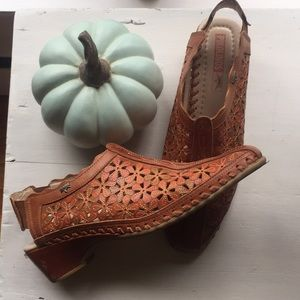 Beautiful Brown Leather Pikolinos Shoes